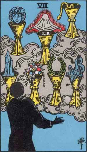 7 of Cups Tarot Card